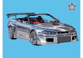 Nissan Silvia vektor