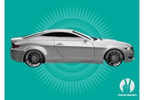Weiß BMW vektor