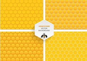Bienenwaben-Vektor-Muster