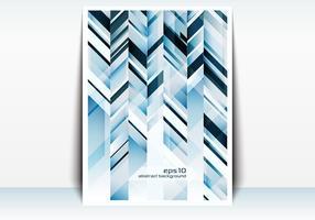 Abstrakt 3D Mockup Vector