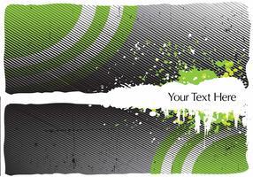 Grüner Halbtonhintergrund-Vektor vektor