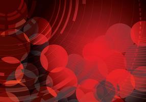 Röd abstrakt cirkelbakgrund Två vektor
