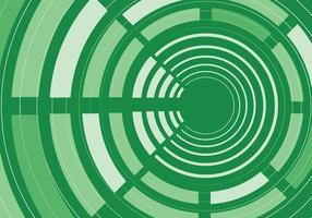 Grön abstrakt cirkel bakgrundsvektor