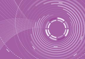 Purple Abstract Circle Background Vector