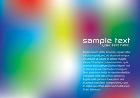 Blurry Regenbogen Hintergrund Vektor