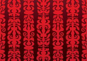 Native Red Vector Hintergrund