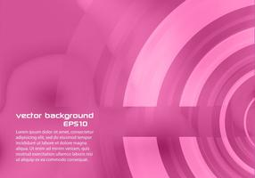 Pink Abstract Circle Background Vector