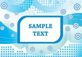 Blaue abstrakte Form Vektor Hintergrund