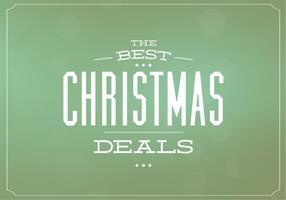 Weihnachten Angebote Vektor Hintergrund