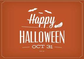 Glad Halloween Vektor Bakgrund