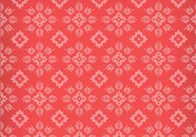 Blommig prydnad vektor mönster