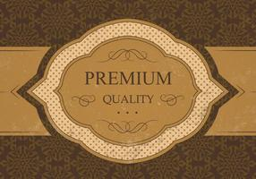 Vintage Premium Qualität Vektor Hintergrund