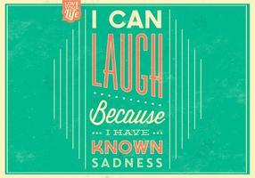 Lachen Poster Vektor Hintergrund