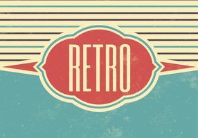 Grunge Retro Vector Bakgrund