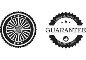 Free business badge vektoren