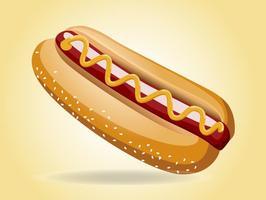 Hot Dog Vektor