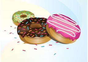 Donut-Vektoren vektor