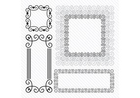 Spiral Vektor Rahmen