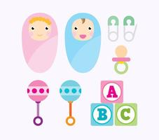 Baby-Vektor-Icons