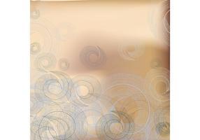 Spirale Blatt Vektor Hintergrund
