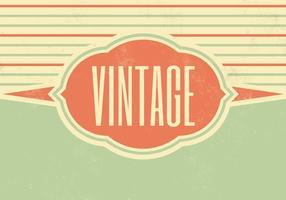 Striped Vintage Vektor Hintergrund Zwei