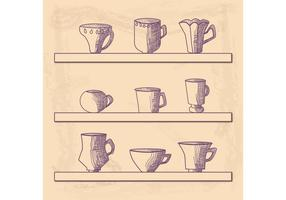Hand Drawn Cup Vektor