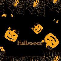 Halloween Jack-o-Laterne Vektor