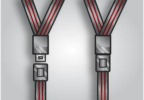 Sitzgürtel Vektor Packung