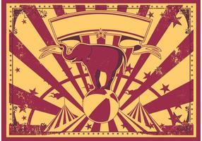 Klassischer Vintager Zirkus-Vektor