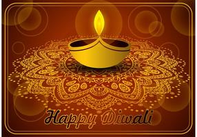 Glad Diwali Vector