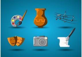 Kunst und Kultur Vector Icon
