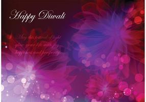 Happy Diwali Vektor Hintergrund