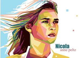 Nicola Anne Peltz Vektor Porträt