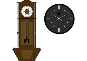 Grandfather Clock Vector
