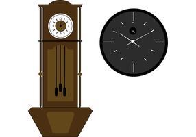 Großvater Uhr Vektor