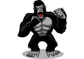 Gorilla-Vektor