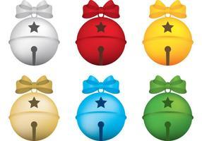 Jingle Bells Vektoren mit Bögen