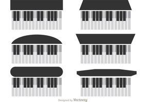 Piano vektorer