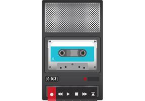 Tape Recorder Vektor