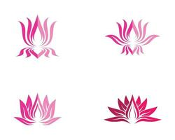 Beauty Flower Logo Set