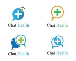 medicinsk logotyp malluppsättning