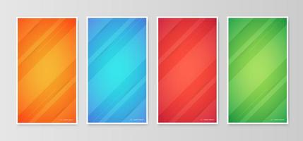 abstrakt lutning geometriska täckmönster