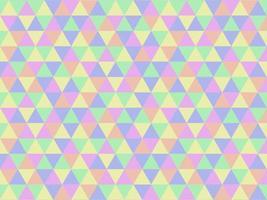 bunter geometrischer Dreieckmusterhintergrund des abstrakten Pastells vektor