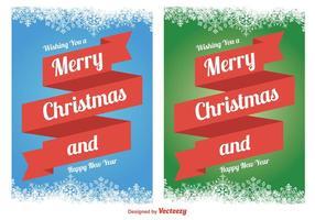 Julkort vektorer