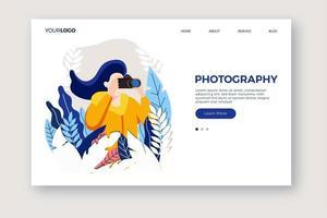 målsida för fotografering