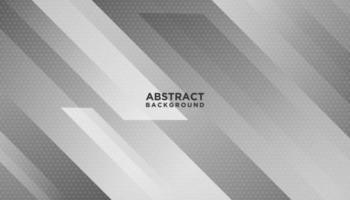 weiße und graue abstrakte Bewegung formt Hintergrund vektor