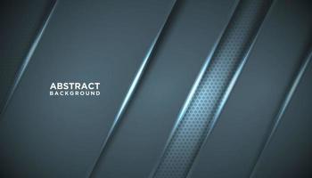 blå metallisk diagonal teknisk bakgrund vektor