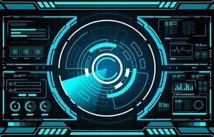 Technologie Radar Schnittstelle Hud