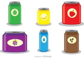 Soda kan mallvektorer