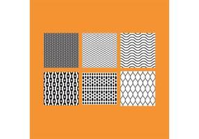 Einfache B & W Muster 5